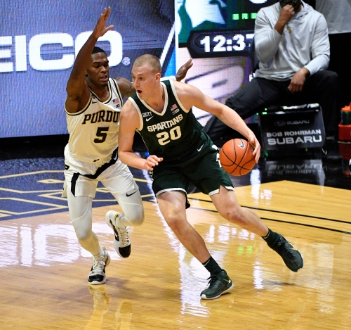 March Madness: Purdue's Brandon Newman on verge of making 'some noise'