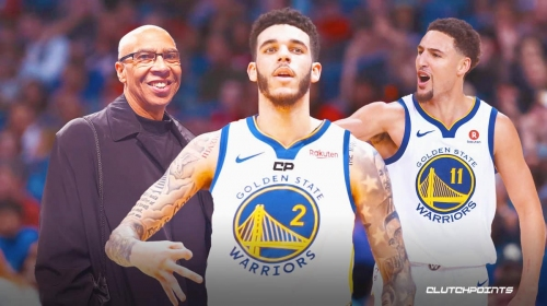 Lonzo Ball to Golden State gets full support from Klay Thompson's dad