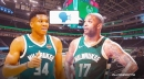 Bucks star Giannis Antetokounmpo reacts to P.J. Tucker being a huge loudmouth