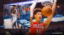 Video: Pelicans' Jaxson Hayes detonates all over Nuggets with latest poster slam