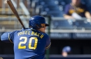 Trio of two-run homers power Brewers past Cleveland, 6-3