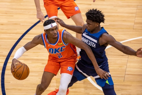 OKC drills franchise-record 21 three-pointers in 112-103 win over Minnesota