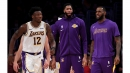 Lakers give Devontae Cacok first NBA start as they hope to get healthy soon