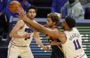 Warriors' comeback falls short against 76ers