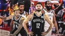 James Harden, Kyrie Irving absences set big fantasy night for Nets' Joe Harris, Jeff Green