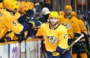 Nashville Predators 7, Detroit Red Wings 1: Grimaldi's four-goal game gives Preds victory early