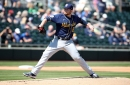 Brewers and Giants play to 2-2 tie
