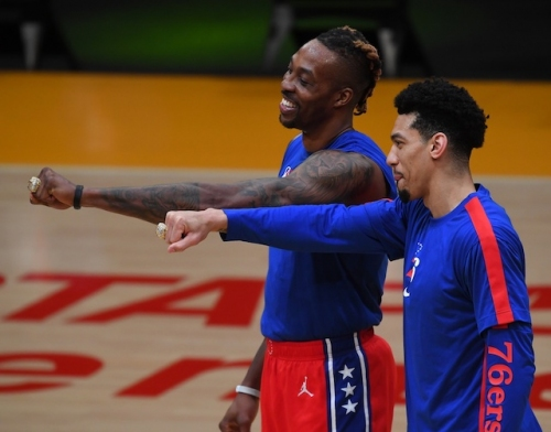 Lakers Video: 76ers' Dwight Howard & Danny Green Receive 2020 Championship Rings