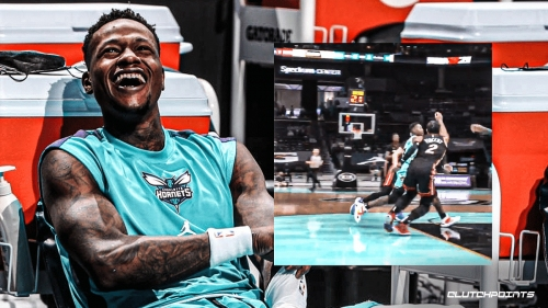 Hornets star Terry Rozier's hilarious take after finding out he had 11 assists