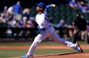 Adbert Alzolay has made the Cubs Opening Day roster and will be in the rotation