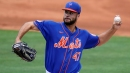 Mets use opener in possible preview of pitching plans with Noah Syndergaard, Carlos Carrasco out