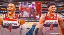 Wizards star Russell Westbrook finds Rui Hachimura for massive poster on Pistons rookie