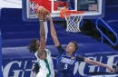 Moses Brown ties Thunder single-game rebound record in 111-94 loss to Celtics