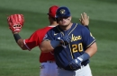Daniel Vogelbach will make the Brewers Opening Day roster