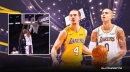 VIDEO: Kyle Kuzma, Alex Caruso team up for two-way steal and slam