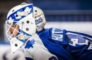 Michael Hutchinson gets call to be Maple Leafs goalie against Oilers tonight