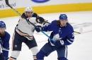Maple Leafs lose 3-2 in overtime to Edmonton Oilers, win season series