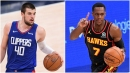 Ivica Zubac, Rajon Rondo reunited on Clippers
