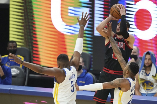 Bulls vs. Warriors final score: Chicago can't stop Golden State in 116-102 loss