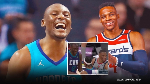 What Wizards star Russell Westbrook immediately did after posterizing Bismack Biyombo