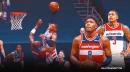 Wizards stars Bradley Beal, Rui Hachimura react to massive Russell Westbrook poster slam