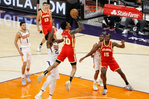 Hawks miss opportunity to steal victory in road loss to Suns