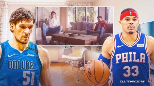 Video: Tobias Harris, Boban Marjanovic star in hilarious Goldfish commercial