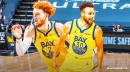 Warriors' Stephen Curry, Nico Mannion develop bond over fascinating backgrounds