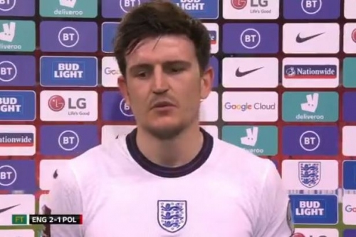 Harry Maguire sends message of support to John Stones after mistake