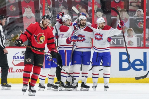 The Canadiens' top line is catching fire