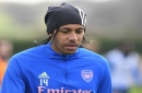 Mikel Arteta responds to claims Pierre-Emerick Aubameyang has 'dropped off' since signing lucrative new deal at Arsenal