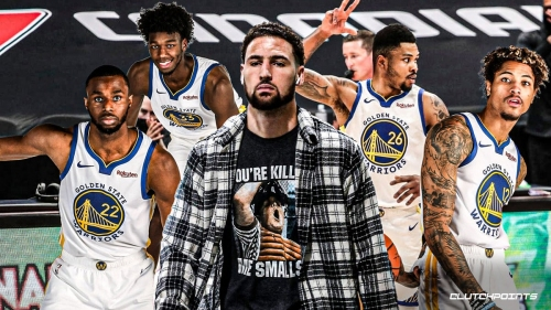 Klay Thompson's reaction to Warriors' blowout loss to Raptors