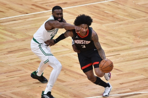Rough shooting night leads to Rockets falling to the Celtics in Boston