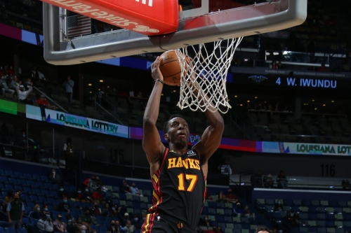 Hawks finish road trip with 126-103 win in New Orleans