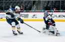 Colorado Avalanche control Blues in 3-2 victory, remain top of Honda West