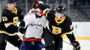 Bruins' Brandon Carlo out week-to-week with upper-body injury