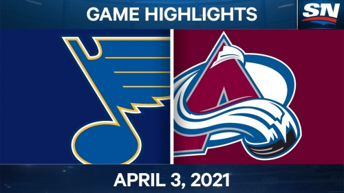 Makar's late goal propels Avalanche to win over Blues