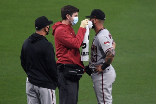 Diamondbacks 0, Padres 7 - Battered and Bruised