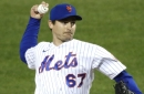Mets' Seth Lugo has begun throwing