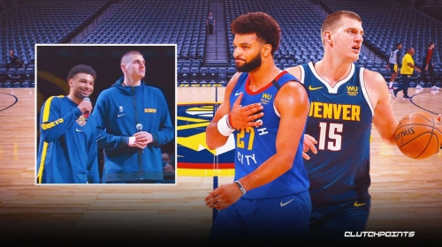 Nuggets star Nikola Jokic reveals why he froze after Jamal Murray's pre-game speech to fans