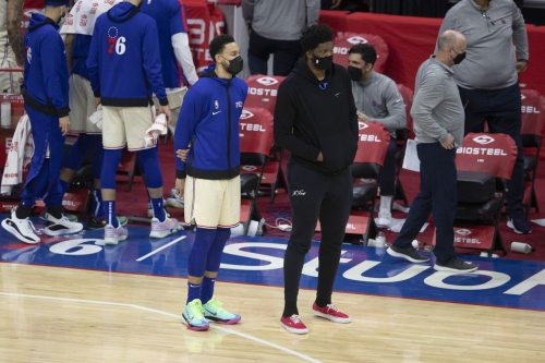 The Gastroenteritis Blues: (41) Embiid's Return, Simmons' Struggles, Too Much Mike Scott | Out Now