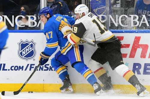 Golden Knights at Blues Preview: Sooner or later