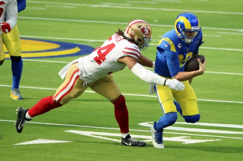 49ers, Rams, have the same projected win total for 2021
