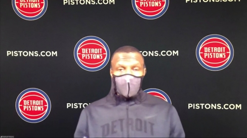 Detroit Pistons' Dwane Casey: Our young guys are not afraid of contact