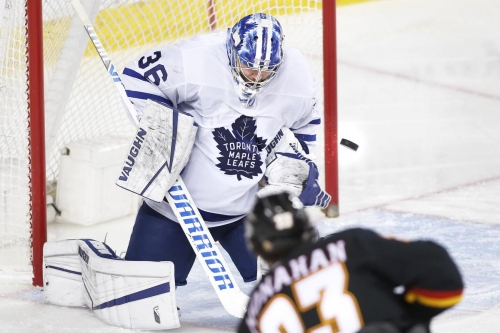 The Leafs head home after a four-game road sweep. And the power-play drought is over