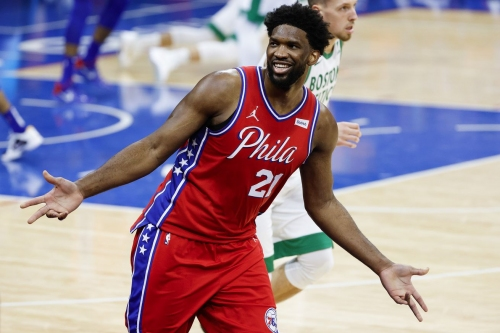 Sixers begin four-game road trip with matchup against Celtics