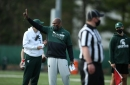 Mel Tucker explains Michigan State football's scrimmage, updates QB competition