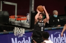 Joe Harris: It'd be 'awesome' to shoot 50% from three, but he 'never looks' at numbers