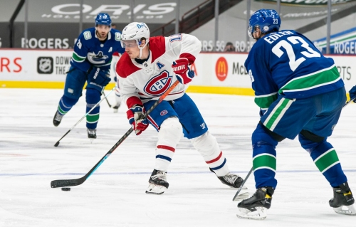 Canadiens' Brendan Gallagher likely out at least 6 weeks with thumb injury