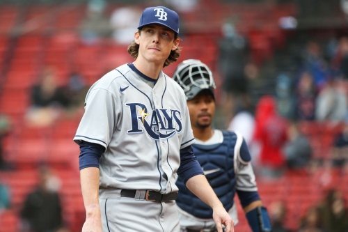 Rays 2, Red Sox 9: Swept in the cold
